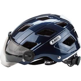 ABUS Hyban+ Helmet midnight blue, smoke visor